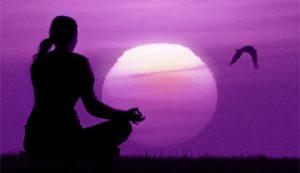 Fiamma viola meditazione